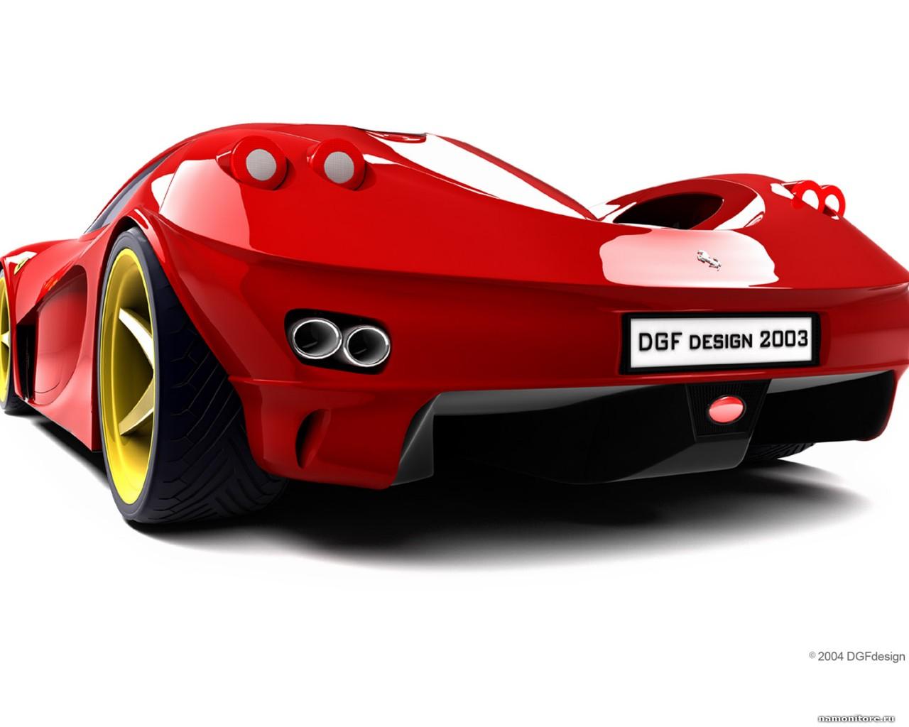 Ferarri clipart cool car Red Berlinetta Dgf white cars