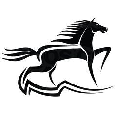 Ferarri clipart horse symbol On horse 41 logo diseño