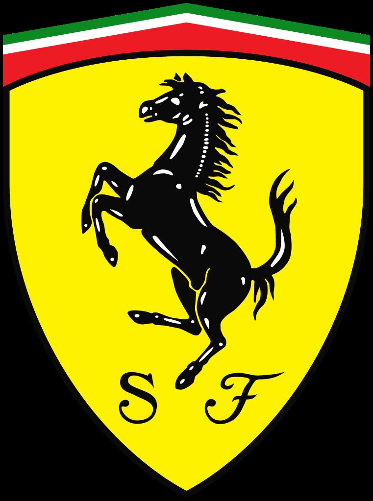 Ferarri clipart horse symbol Prancing Ferrari Scuderia Horse Wikipedia