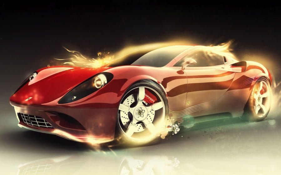 Ferarri clipart modern car Desktop clipart for  Car