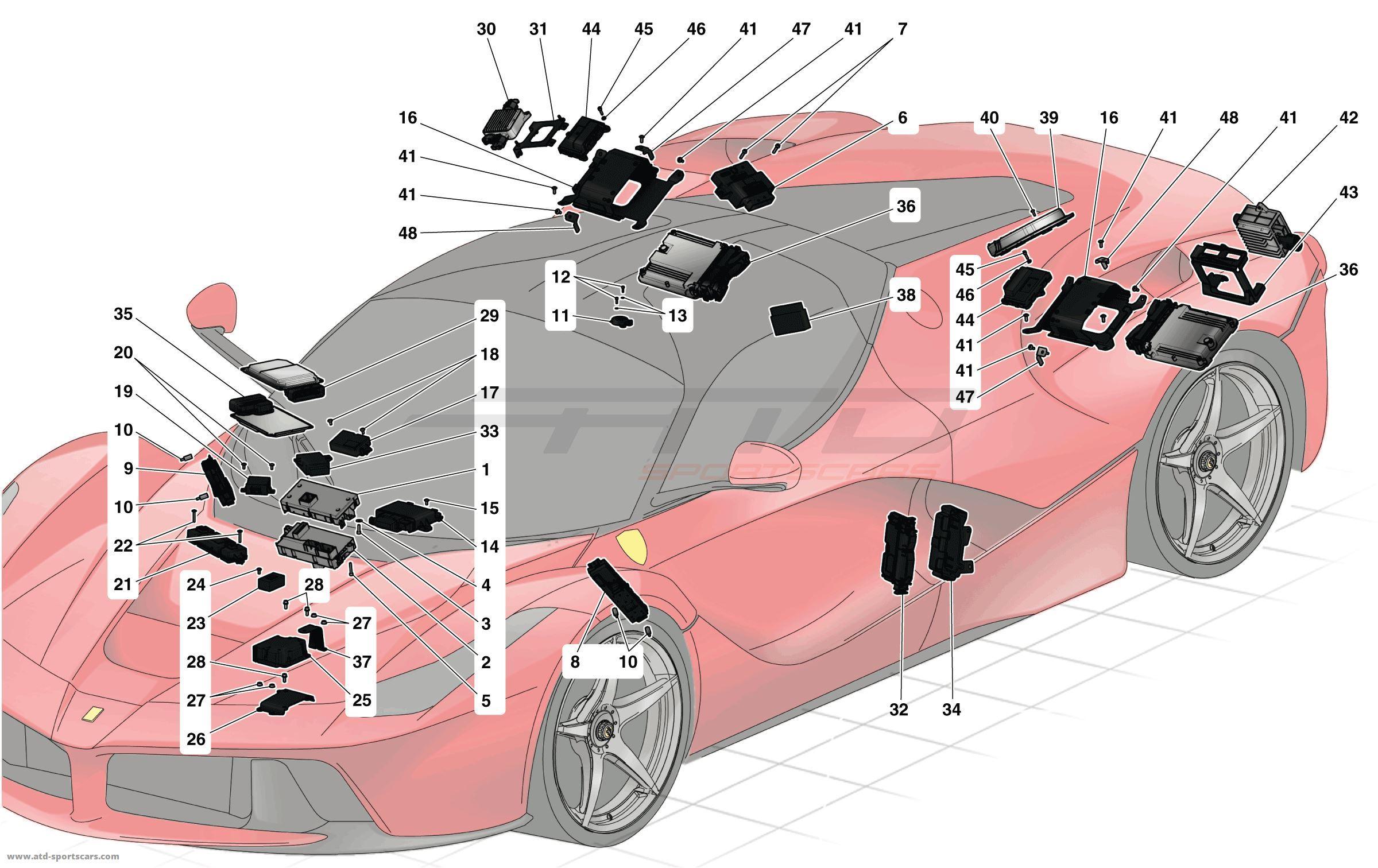 Ferarri clipart pink VEHICLE collection ECUs clipart Sportscars
