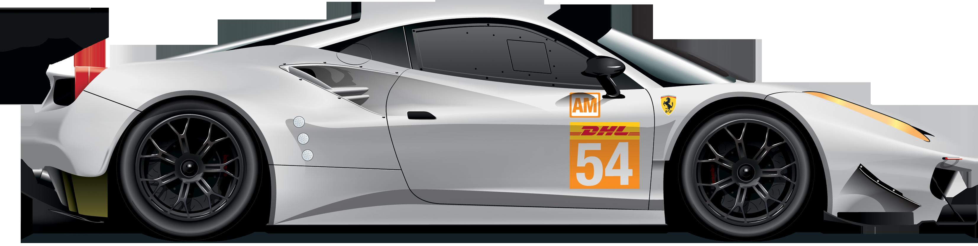 Ferarri clipart racing car Download PNG Car 488 free