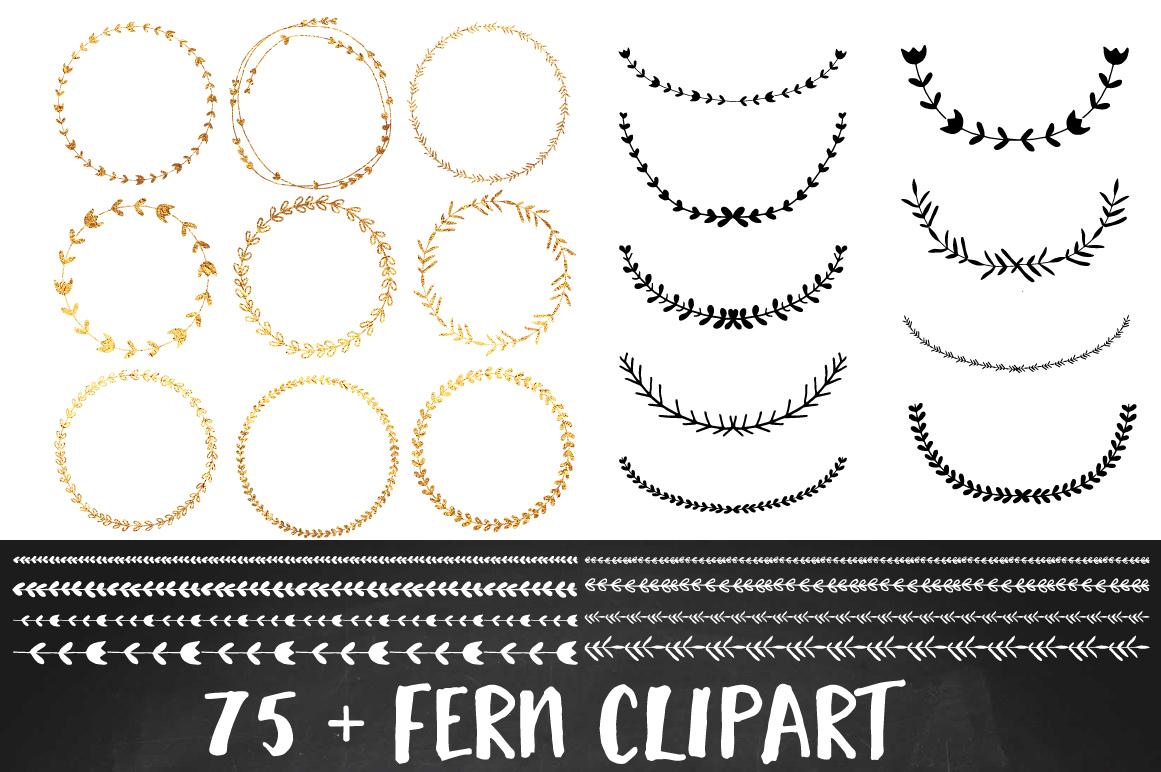 Wreath clipart border Clipart White Black Wreath Clip