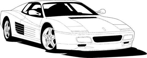 Ferrari clipart Nice clipart 6 art clip