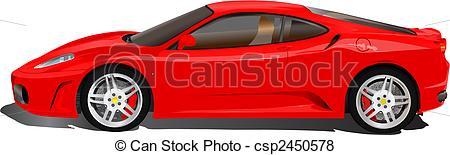 Ferarri clipart cartoon Car Vector Italian sport Ferrari
