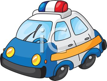 Blue Car clipart disnep Art Art Car Police Clipart