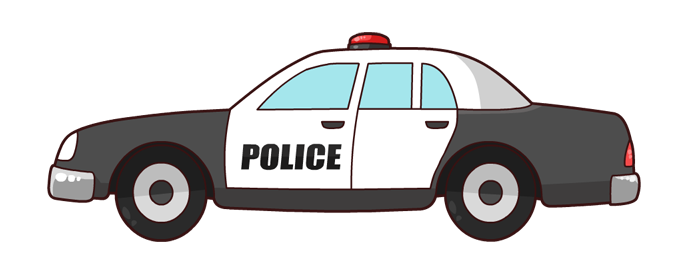Vehicle clipart cop car 2 Of Free on Art