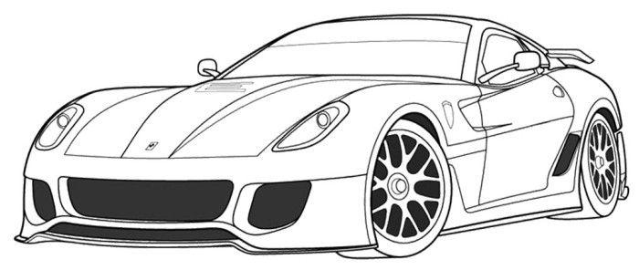 Ferrari clipart colouring page Pinterest Ferrari Ferrari  and