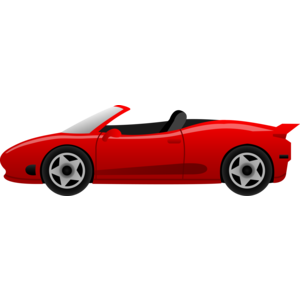 Ferarri clipart convertible Cabriolet Download PNG view in