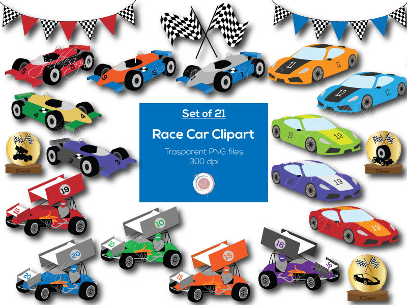 Hot Wheels clipart race car Cars Clipart Racing Race Etsy