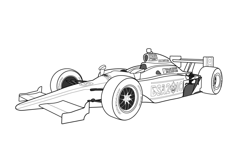 Formula One clipart kid car Kids Race Car Free Racing
