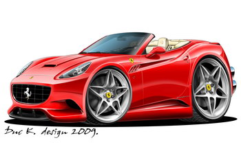 Ferrari clipart dream car Cartoon Ferrari Ferrari California Cars