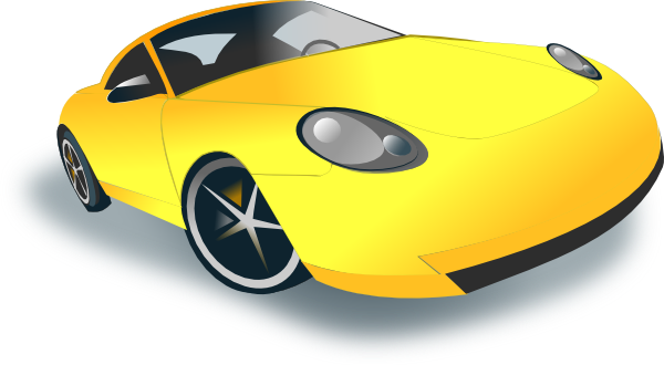 Orange clipart sports car Art on library Sports Clip