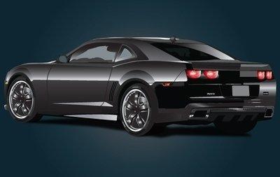 Ferarri clipart modern car Clipart Black Chevrolet Ferrari free