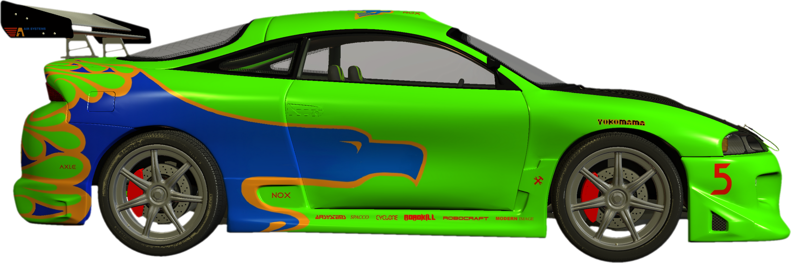 Blue Car clipart side view png Download Nascar to race images