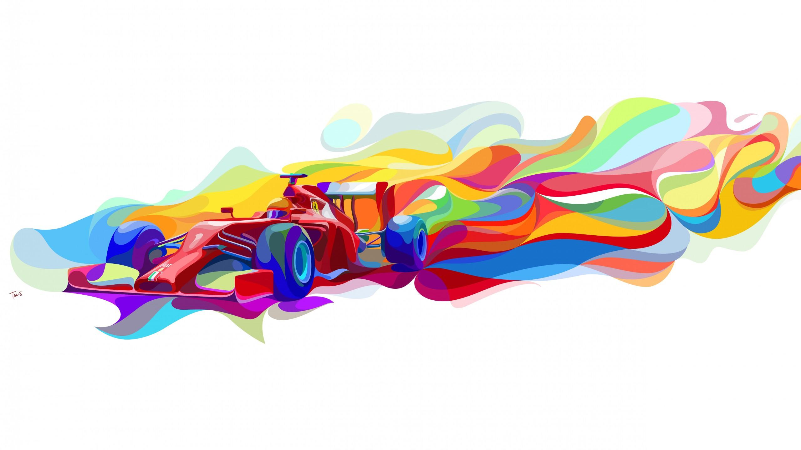 Cars mobiles in Ferrari for