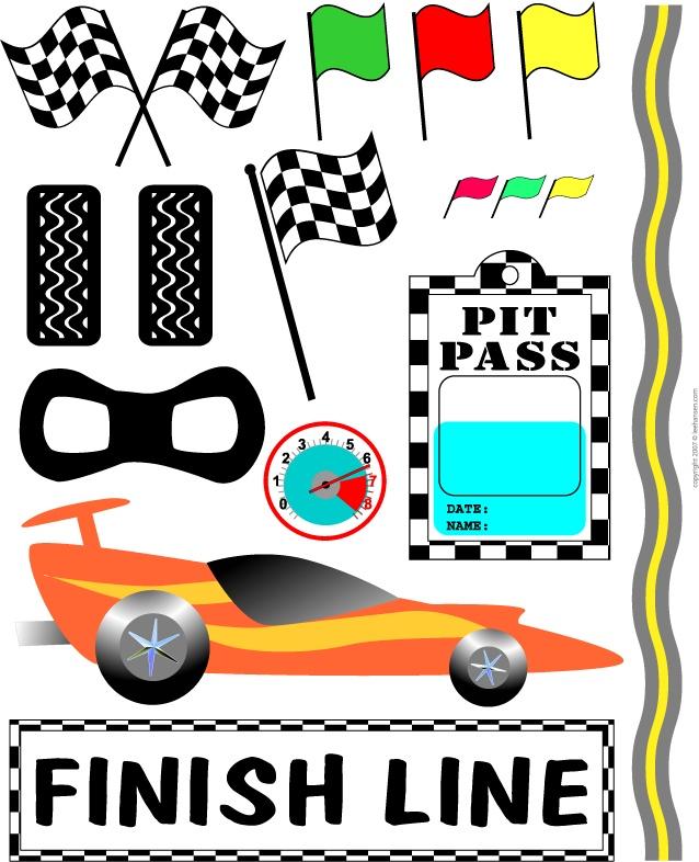 Ferarri clipart racetrack #6