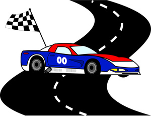 Blue clipart racing car Auto on Auto Racing Racing