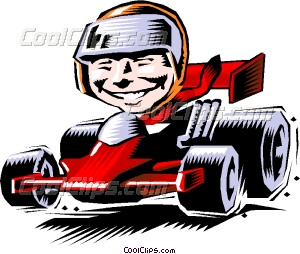 Yamaha clipart race car driver Clip Racing Racecar  Vector