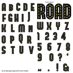 Hot Wheels clipart cute Alpha Clipart Road LLC Numbers