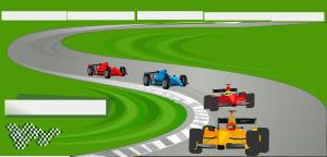 Ferarri clipart racetrack #8