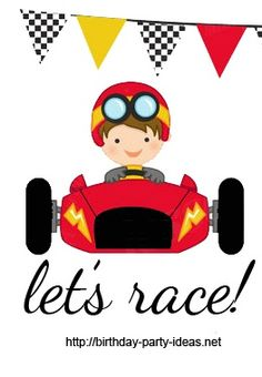 Ferrari clipart racing car Racecar Ideas Birthday Ferrari Party