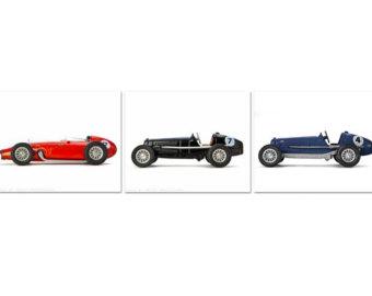 Race Car clipart classic car Prints Vintage race car Cars