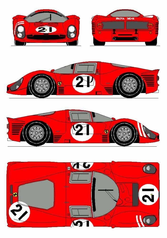 Ferrari clipart racing car Images Net P3 221 Blueprints