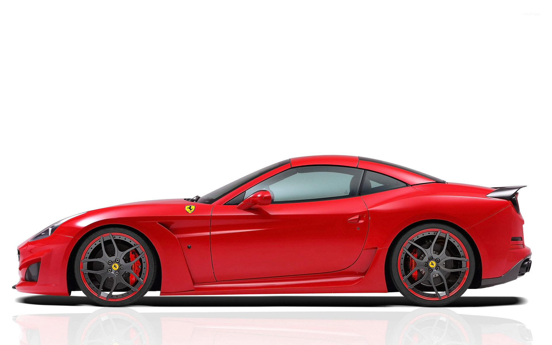 Ferrari clipart side view · Side Cars Ferrari Novitec