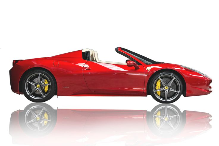 Ferrari clipart side view And Search Searching png side