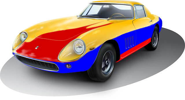 Classic Car clipart sportscar Clip to Colorful Public Free