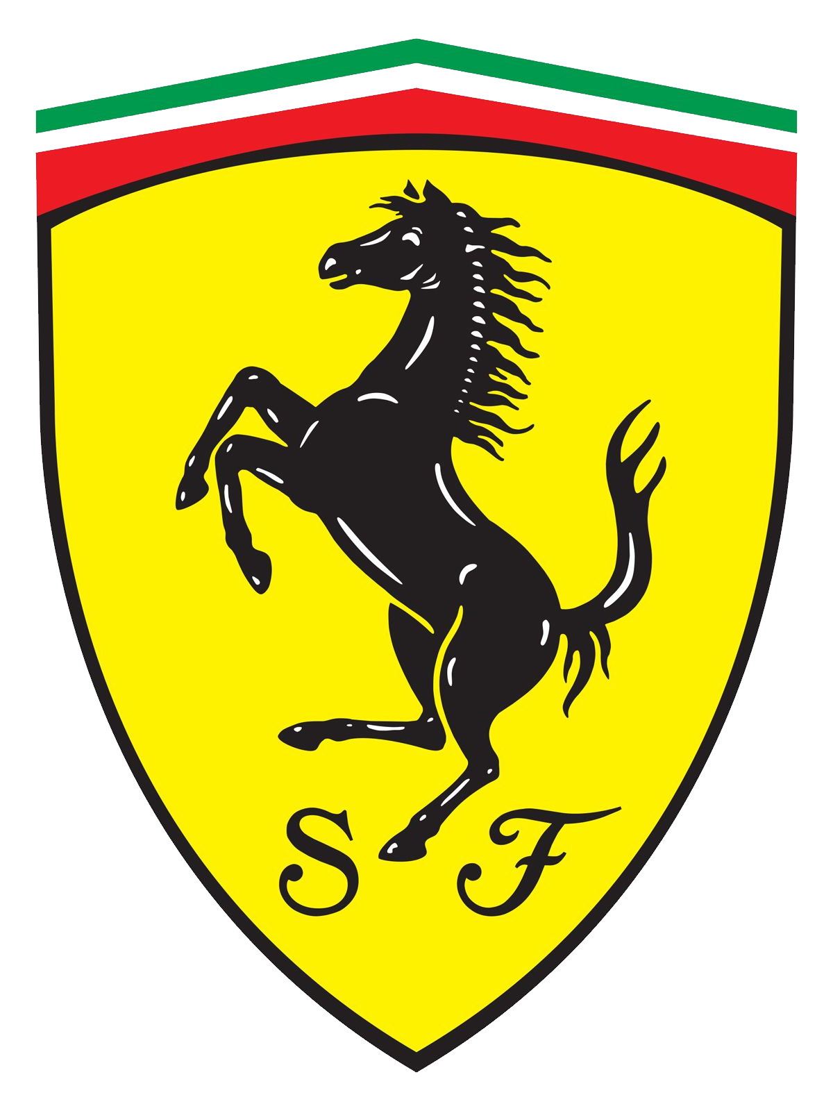 Ferrari clipart yellow Ferrari logo PNG PNG Ferrari
