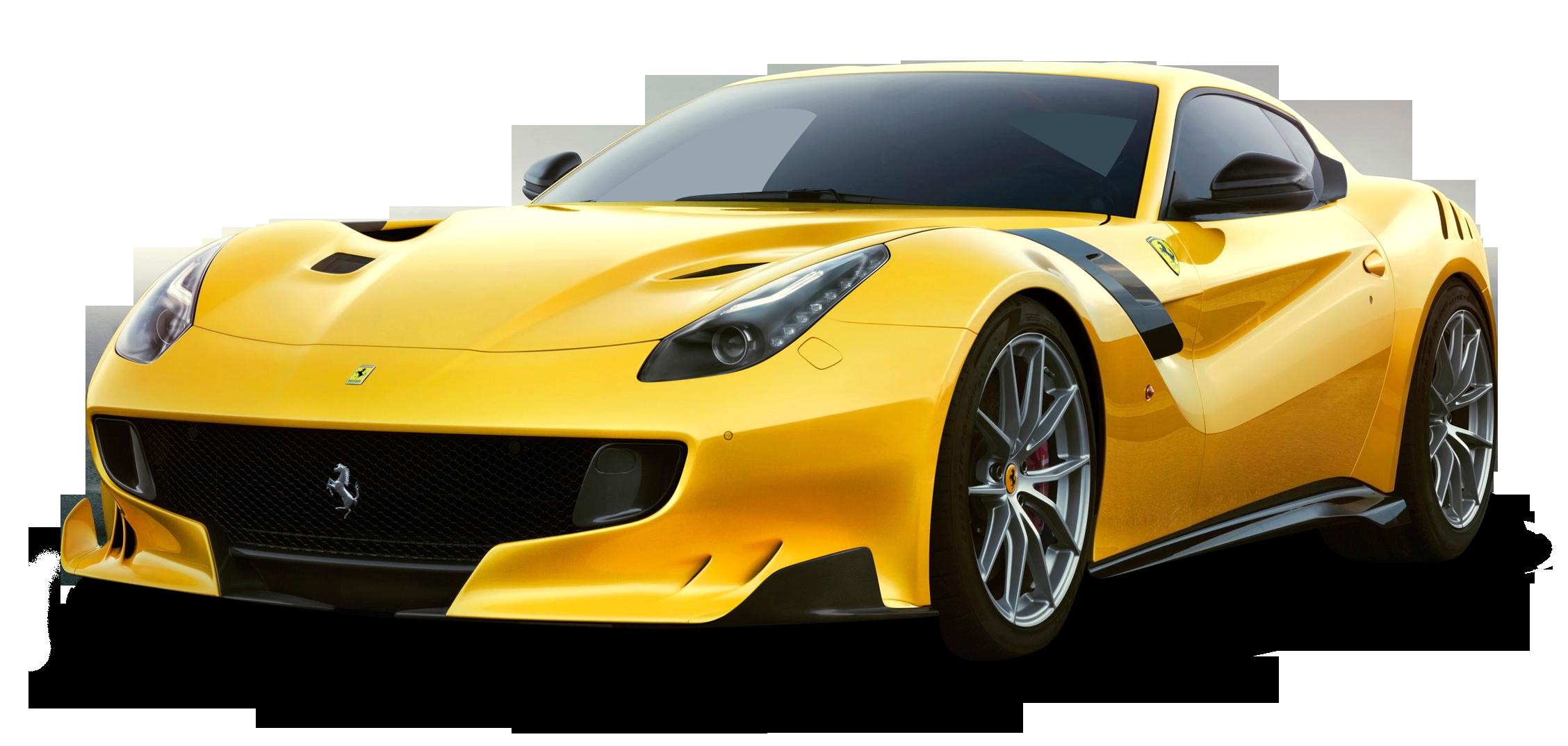 Ferrari clipart yellow Ferrari Sergio Download PNG PNG
