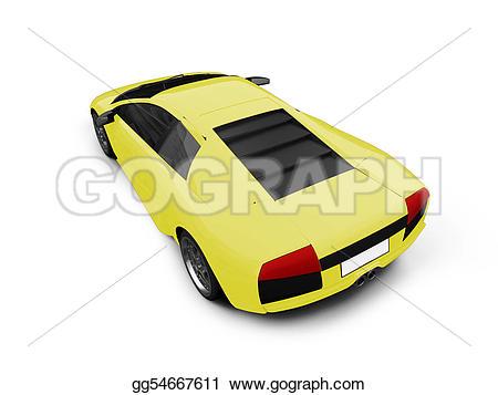 Ferrari clipart yellow View isolated yellow yellow Stock