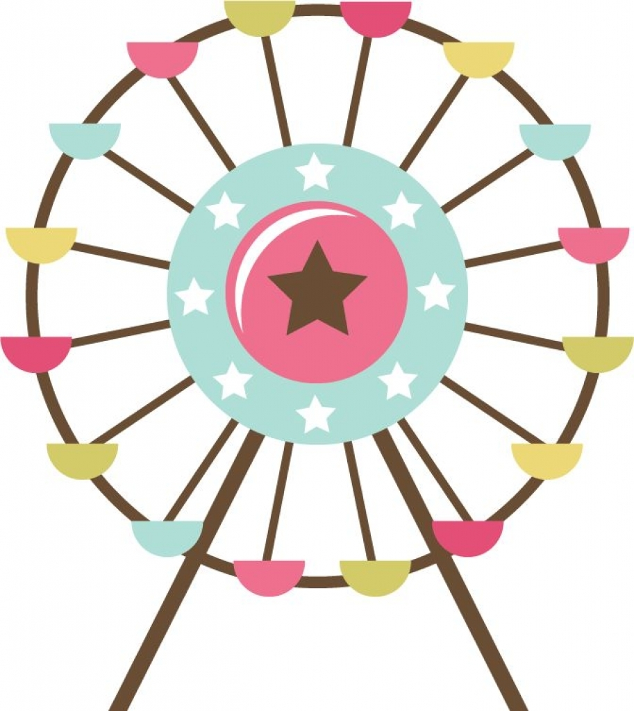 Ferris Wheel clipart #7
