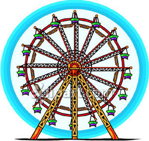 Ferris Wheel clipart carnival Royalty Clipart Ferris Carnival's Picture