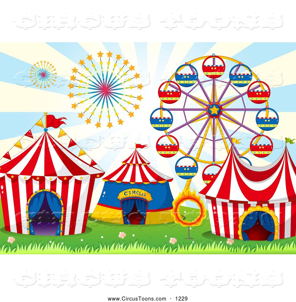 Ferris Wheel clipart carnival And Circus Royalty Cirucs Wheel