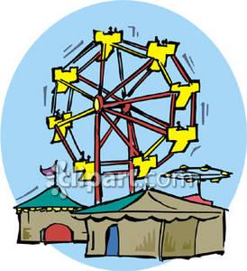 Ferris Wheel clipart carnival A wheel Clipart Ferris Free