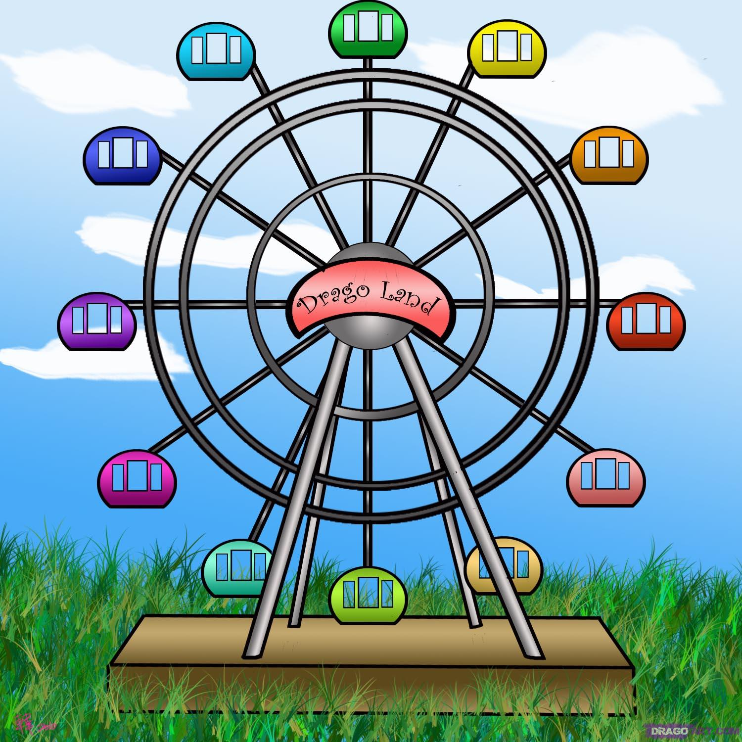 Drawn ferris wheel How Culture how to Wheel