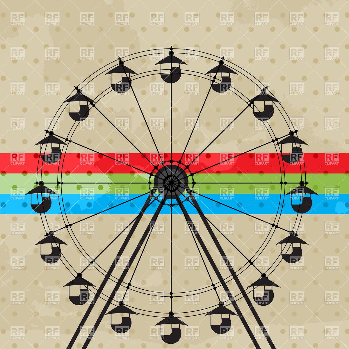 Ferris Wheel clipart fun park Amusement Amusement ferris Amusement Funfair