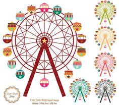 Carousel clipart kids carnival Funfair 50 art carnival clip