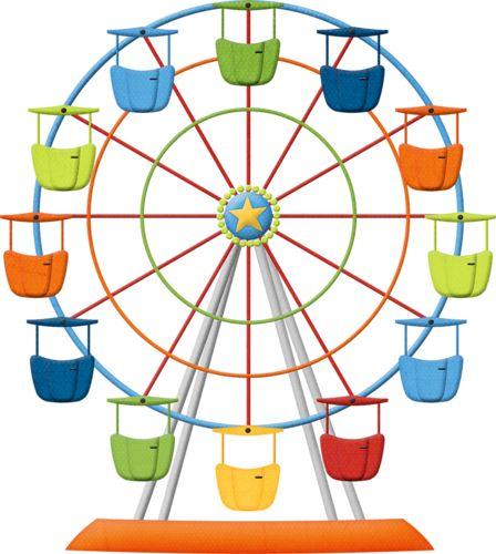 Ferris Wheel clipart funny 53 CAROUSEL and hroselli on