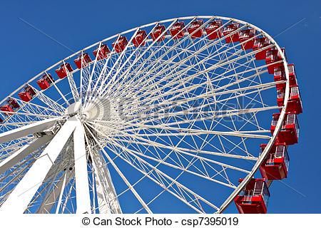 Ferris Wheel clipart giant wheel Close navy giant giant wheel