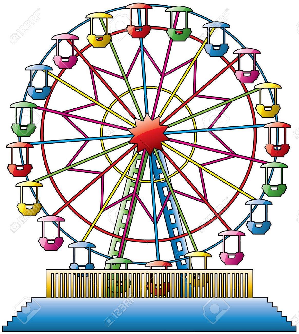 Ferris Wheel clipart giant wheel Clip Cliparts Wheel Art Download
