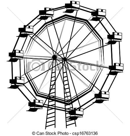 Ferris Wheel clipart giant wheel Image  Ferris of of