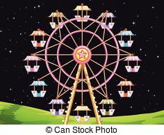Ferris Wheel clipart giant wheel Wheel Illustrations Clipart a of