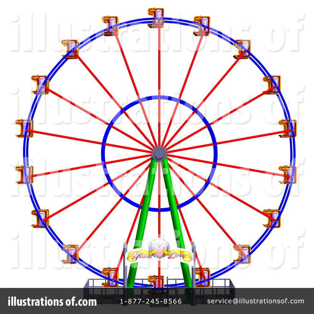 Ferris Wheel clipart giant wheel By Illustration Ralf61 Clipart Wheel