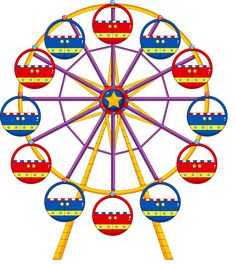 Ferris Wheel clipart kid / Kids https://fotki Art /