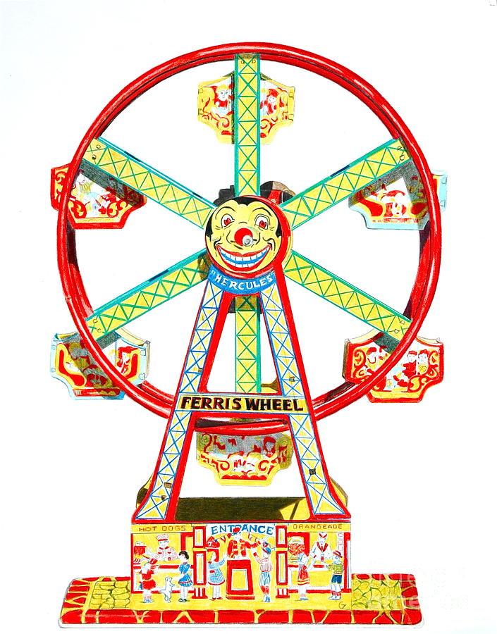 Ferris Wheel clipart kid Ferris art free 4 wheel
