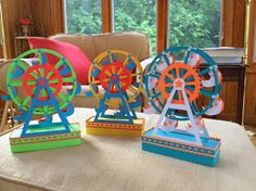 Ferris Wheel clipart made recycled material Spins and of Paper students